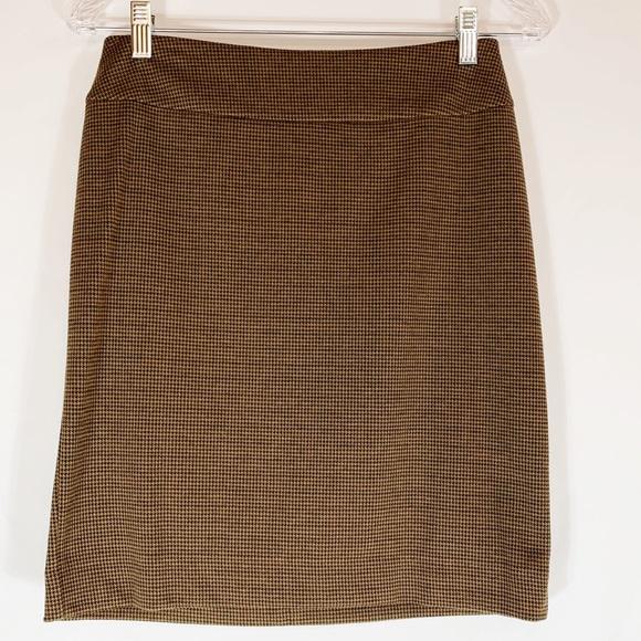 Halogen Dresses & Skirts - Halogen Skirt in Camel and Brown